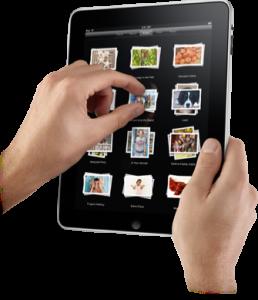 iPad pinch