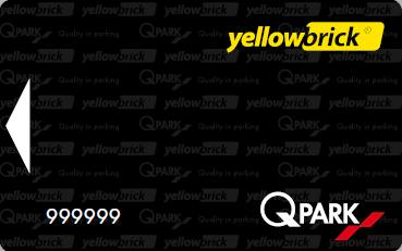 Yellowbrick Q-park P+ pas